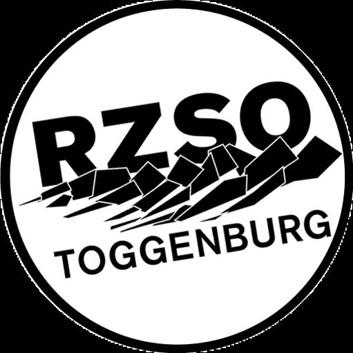 Logo RZSO Toggenburg gross schwarz-weiss